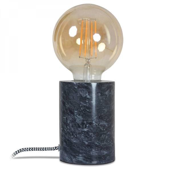 Opjet Lamp Marmer Zwart