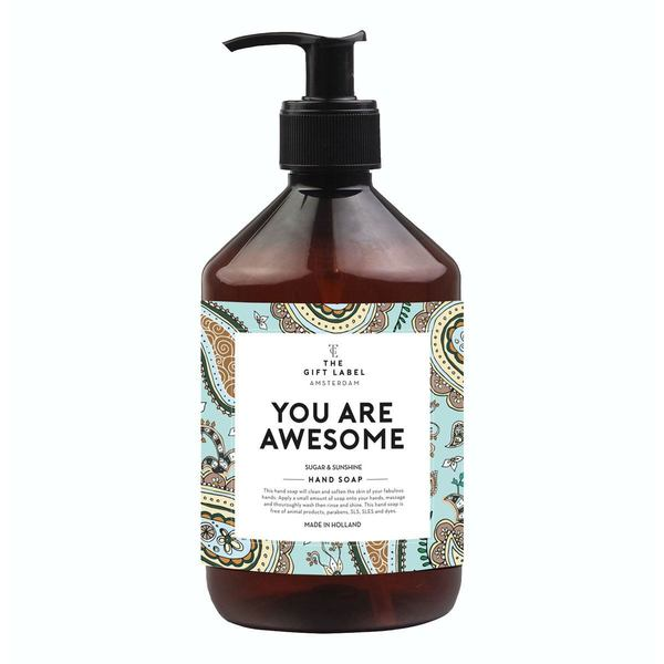 The Gift Label Handsoap You Are Awesome 500ml
