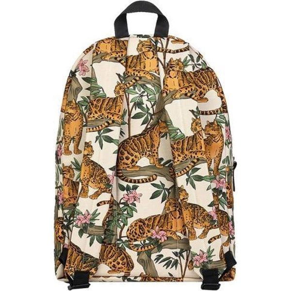 Wouf Lazy Jungle rugzak achterkant