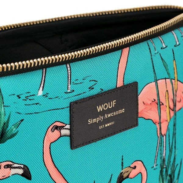 wouf pink flamingos laptophoes 3