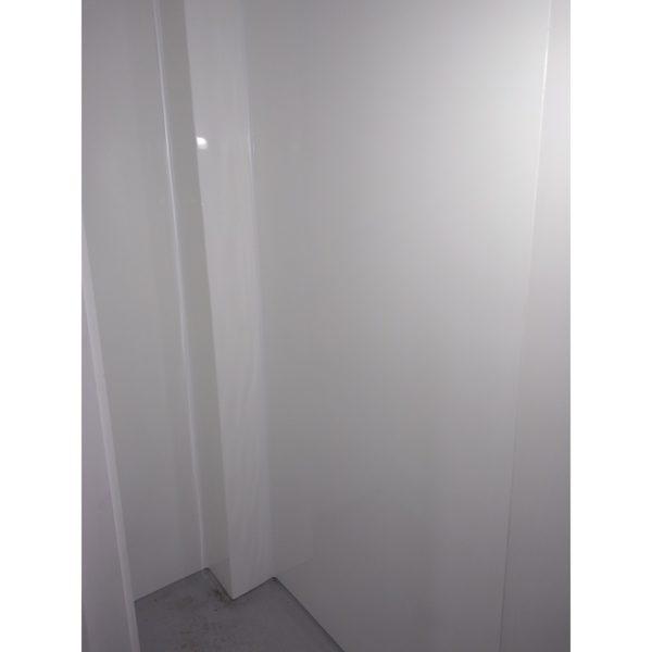 internal corner of 5 Fold Shower liner