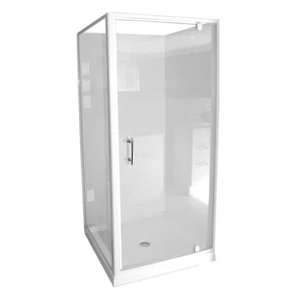 Shower cubicle 900 2 corner N-Adjusta Door
