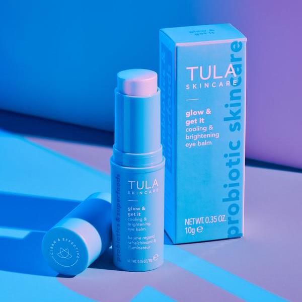 Tula Glow + Get It Cooling & Brightening Eye Balm - Tula Skincare Reviews