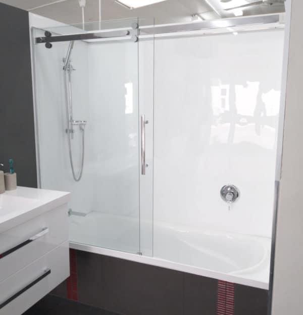 Shower over Bath Urban door Sophia bath
