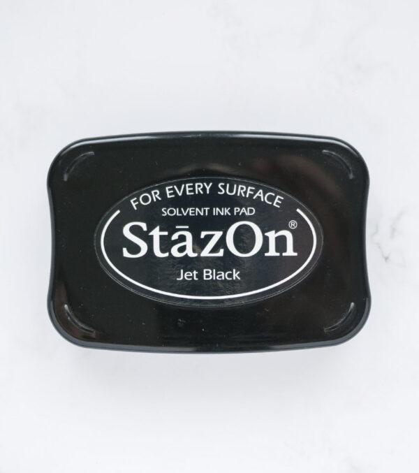 tinta-stazOn-negro-jet-black-materiales-carvado-sellos-ana-sola