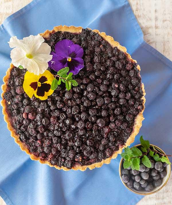 blueberry tart gluten free