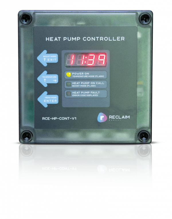 Reclaim Energy heat pump controller