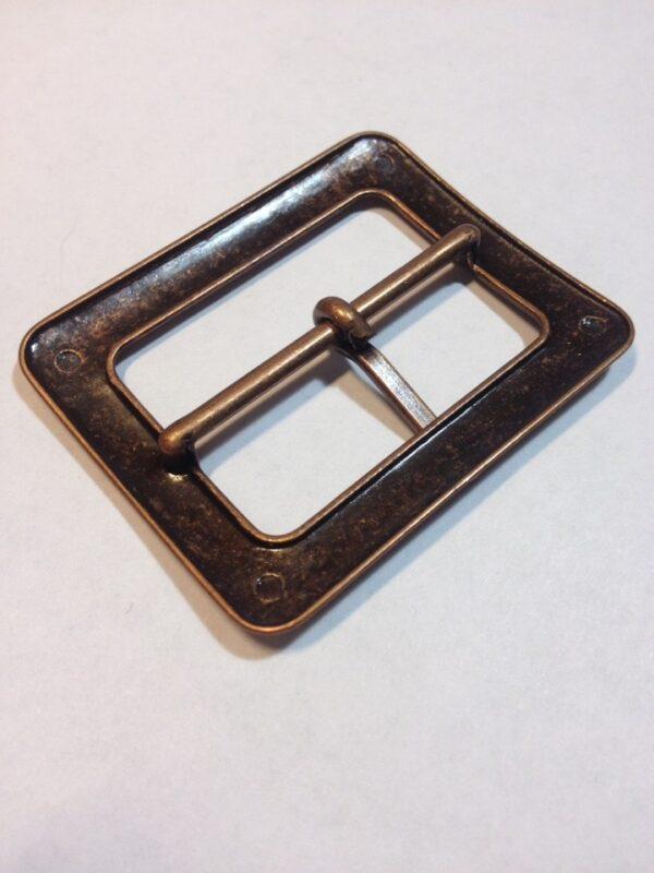 Пряжка 40 мм старая медь