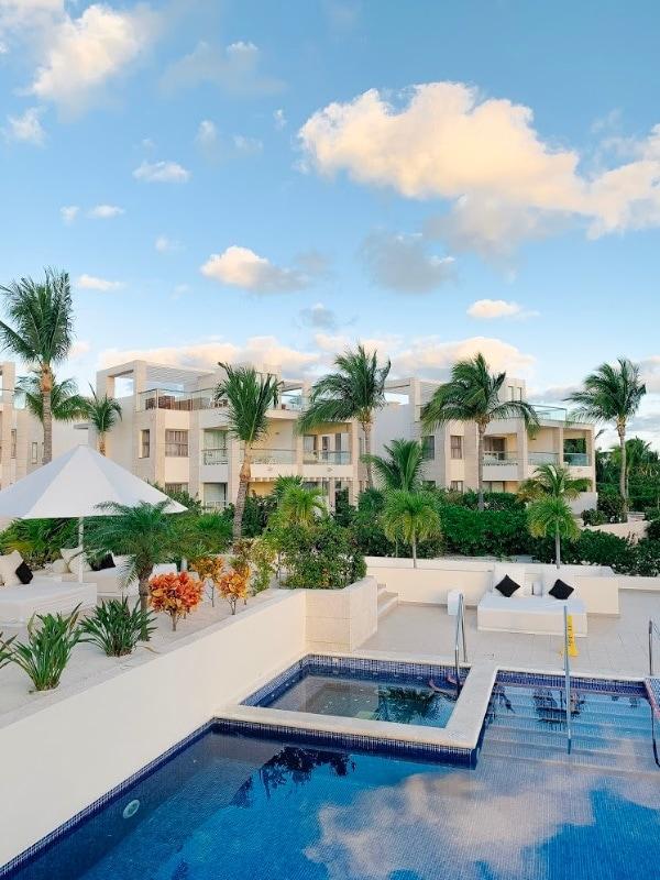 pool view Mexico