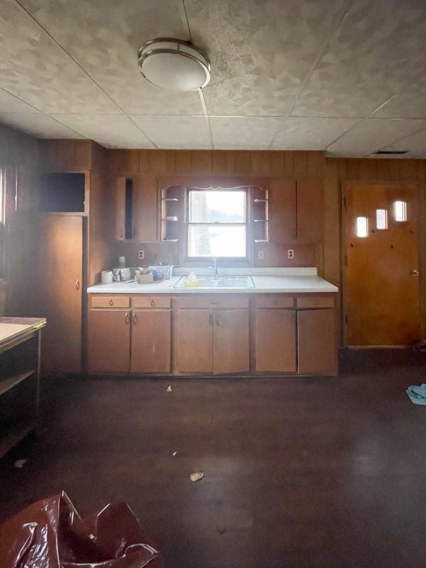 old cottage wood kitchen