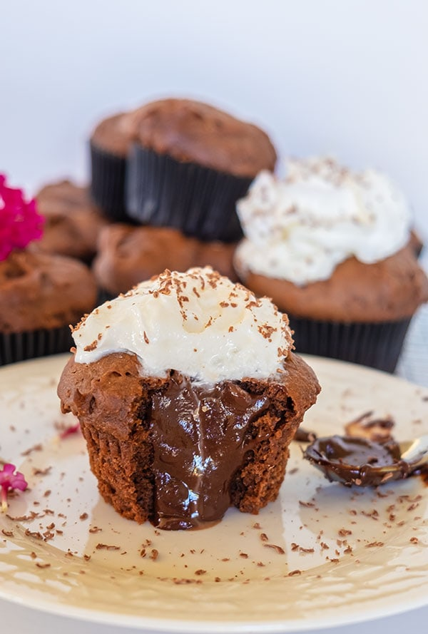 chocolate cupcakes, gluten free