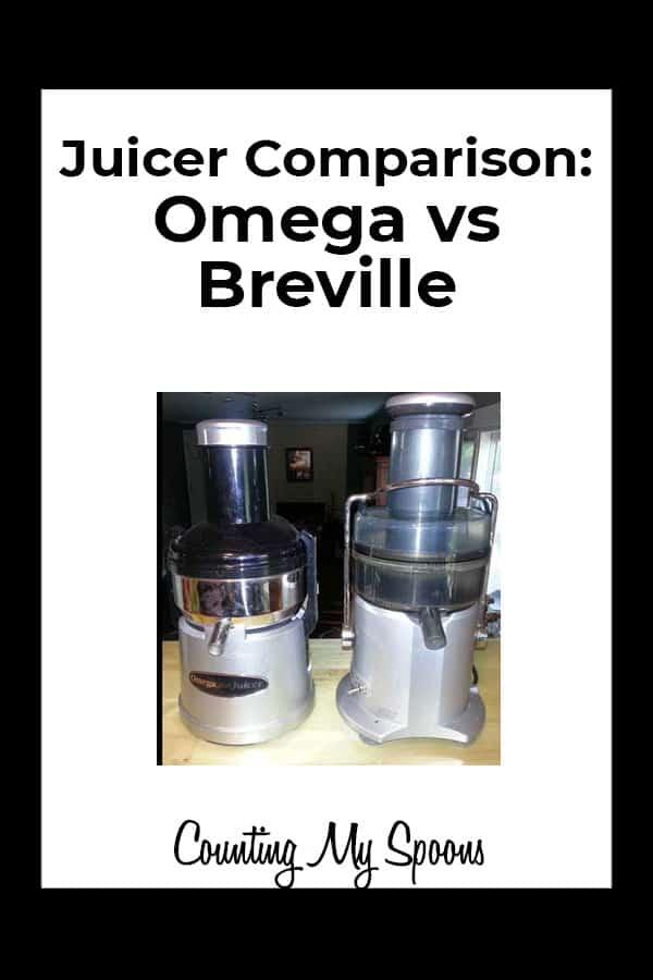 Juicer Comparison: Breville vs Omega