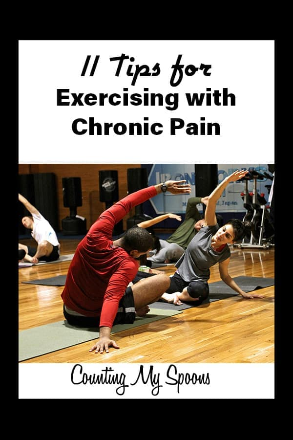 11 tips for exercising with chronic pain