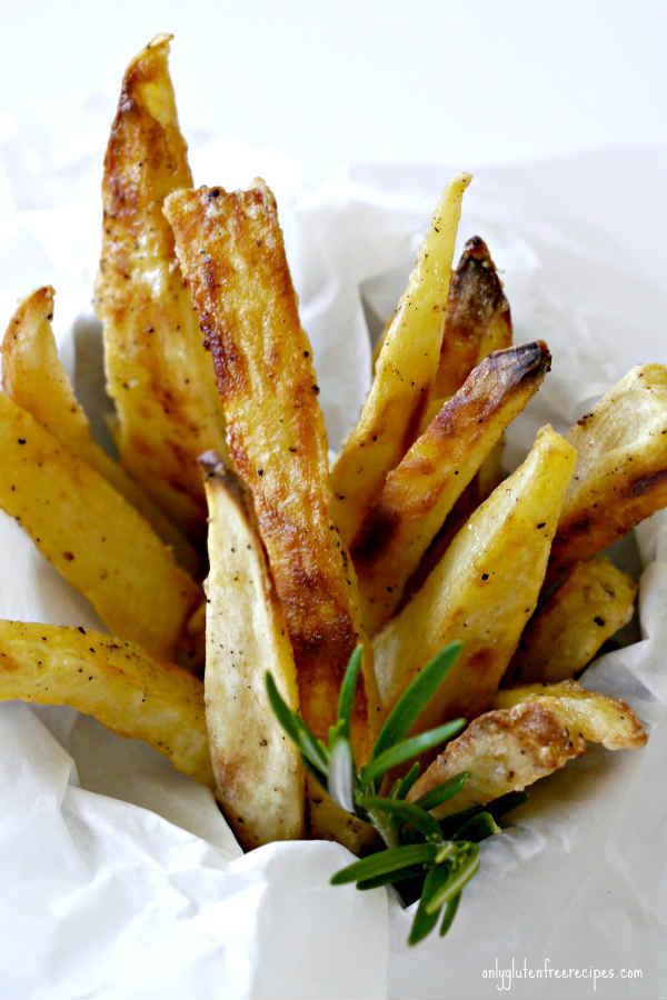 fries, sweet potato