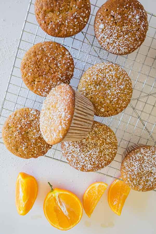 yogurt orange muffin, gluten free