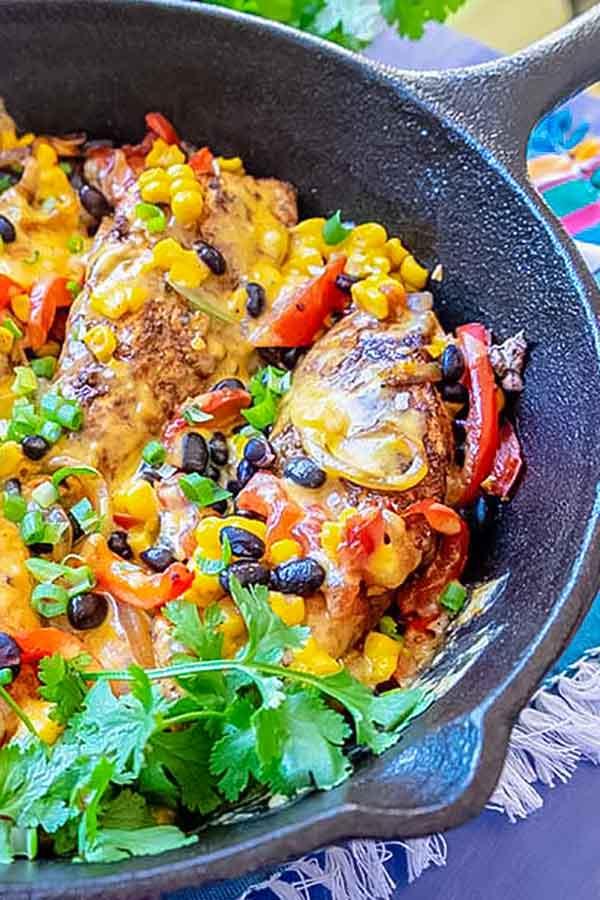 Santa Fee Chicken Dinner