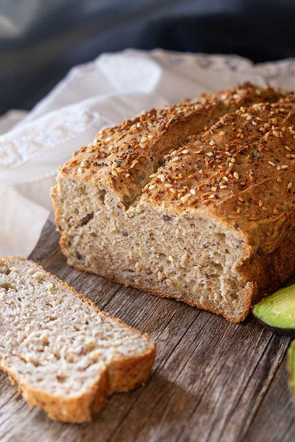 flax bread, gluten free