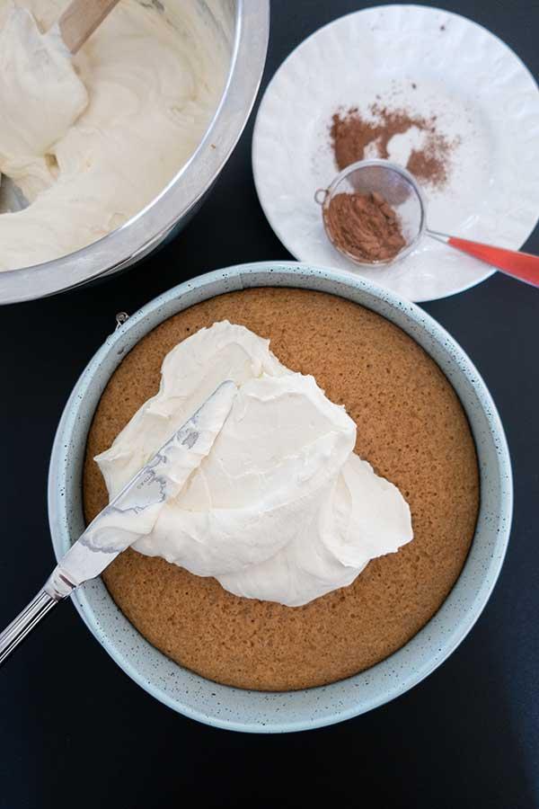 Irish cream tiramisu, gluten free