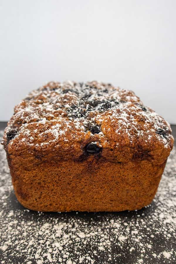 blueberry cornbread, gluten free