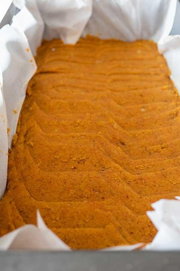 no cook carrot cake base, gluten free