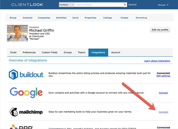 ClientLook integrations