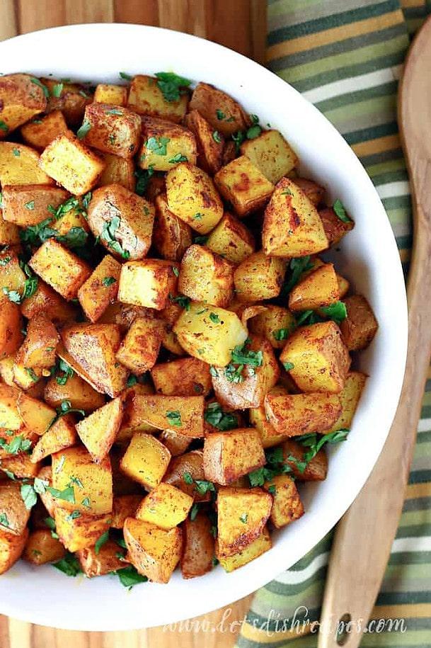 Moroccan Roasted Potatoes