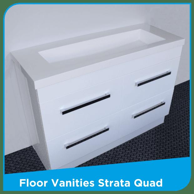 Floor Vanity Quad