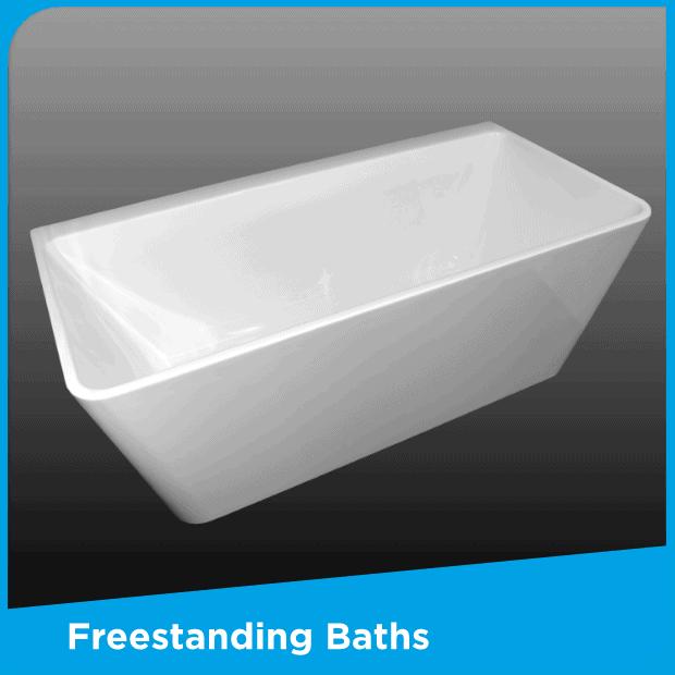 Freestanding baths by Henry Brooks