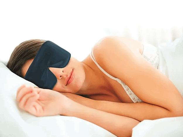 sleep master night mask for the best night sleep this valentines day.