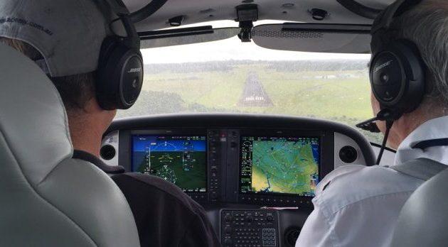 SR20 advanced flight training aircraft