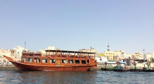 ドバイの渡し舟