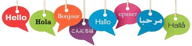Palabra Hola en varios idiomas