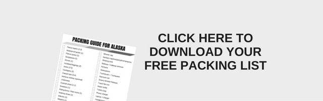 Free Printable - Alaska Vacation Packing Guide