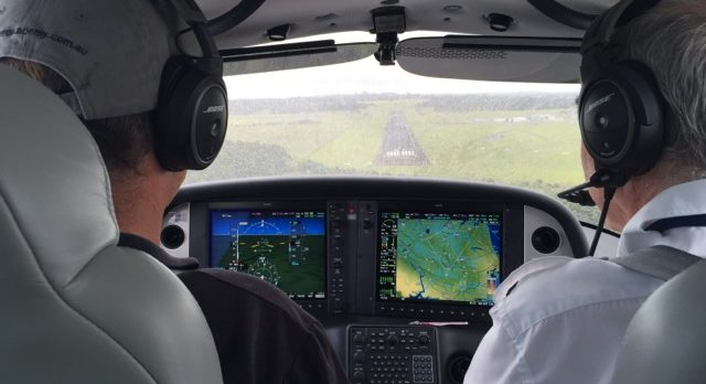 Cirrus SR20 advanced flight training aircraft