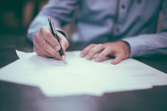 Mietwäsche-Vertragsabschluss