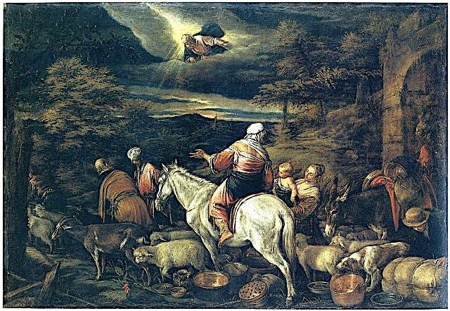 カナンへの出発の画像