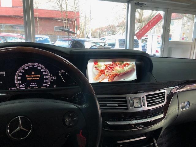 Mercedes W221 S-Klasse modernes Touchscreen 10,25 Zoll Display Nachrüsten Berlin