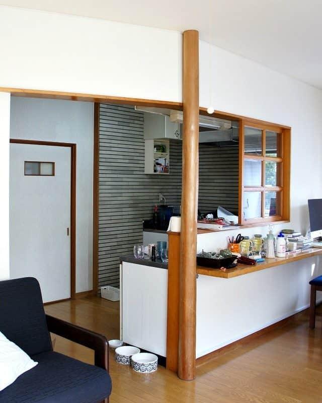 rental kitchen before new year new room refresh challenge