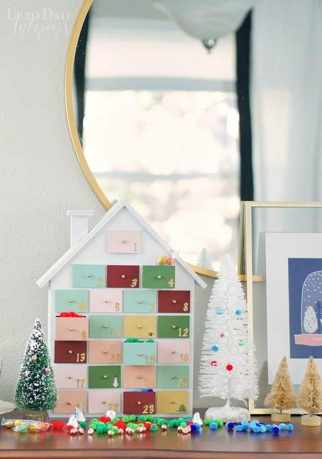 Modern Colorful Diy Advent Calendar