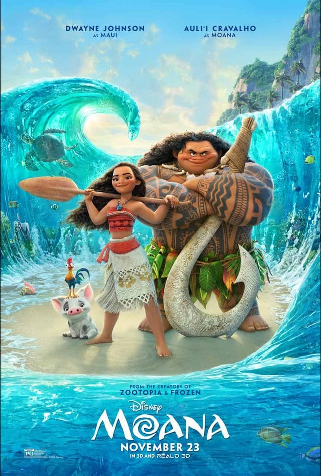 Check out the Official Moana Trailer. Moana sails into theaters this Thanksgiving.