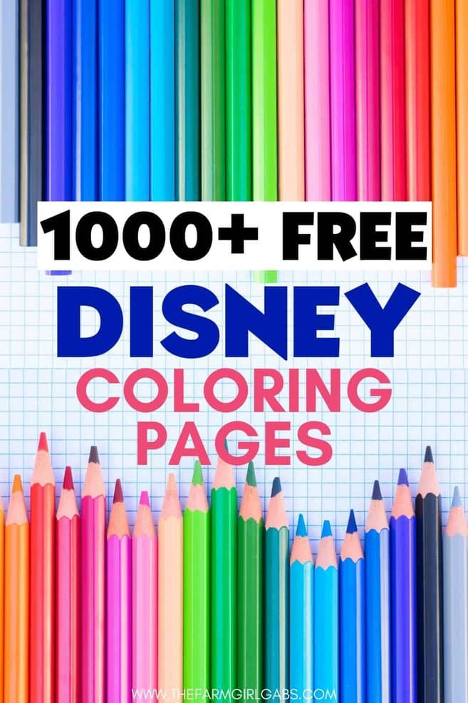 Grab some crayons and have fun coloring any one of these 1000 Free Disney Coloring Pages. This massive collection of Disney Coloring pages has all your favorite Disney Characters!