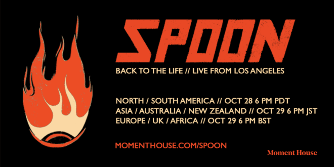 """Spoon announces """"Back to Life // Live From Los Angeles"""" on October 28 and 29 – livestream of sold-out Teragram show"""