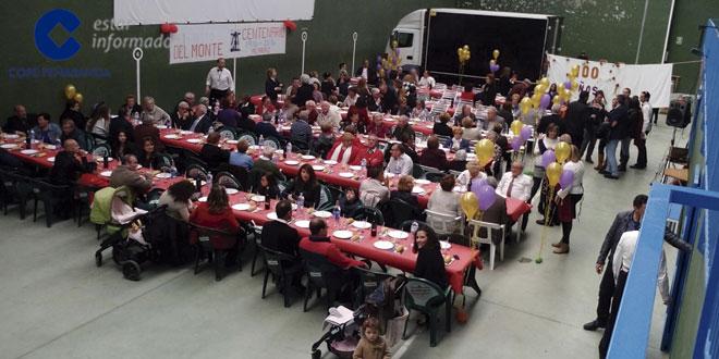Decenas de personas acudieron a una comida de hermandad organizada por la Asociación del Santo Cristo del Monte en Alaraz