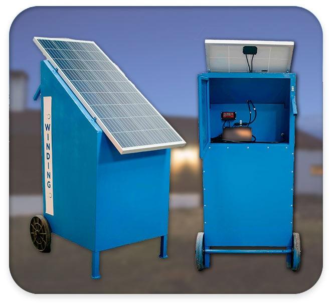 Kit solar para casas de campo