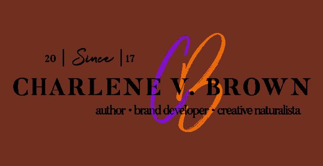 Official Logo for Charlene V. Brown: Author