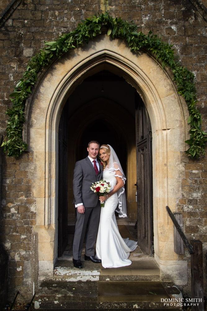 Wedding of Lenia and Tom at St Marys Church 3