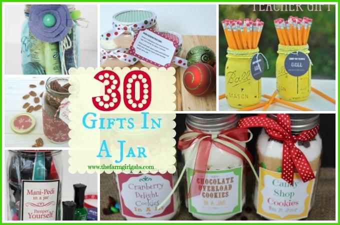 30 Gift In A Jar Ideas