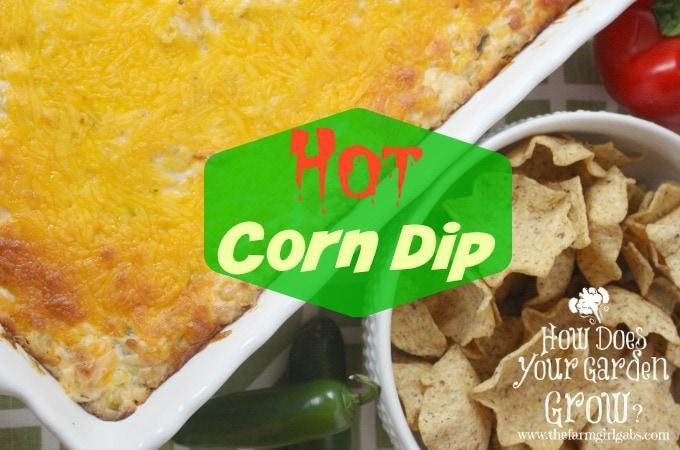 Kicked Up Hot Corn Dip