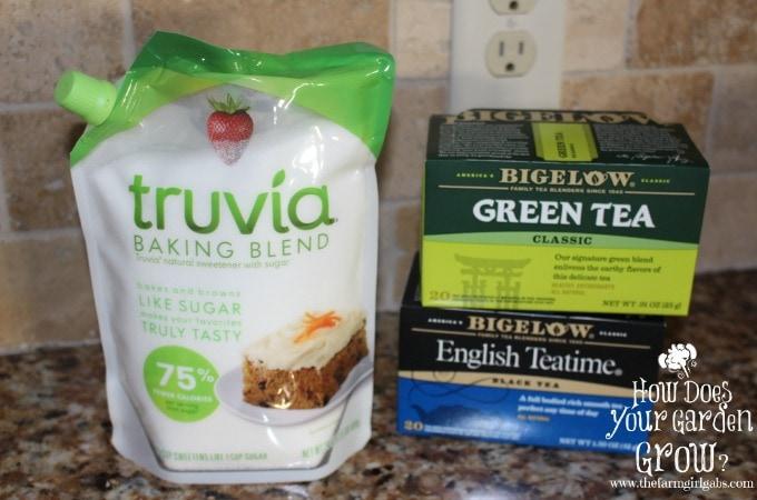 Truvia & Bigelow Tea