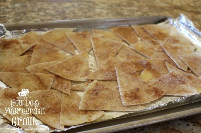 Tortillas on Sheet Pan